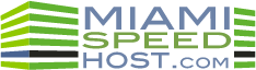 Poas Hosting / Miami Speed Host Logo